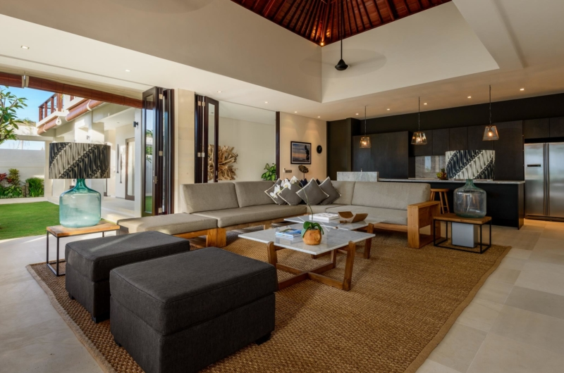 Living Area - The Maya Villa - Canggu, Bali