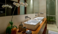 His and Hers Bathroom - The Maya Villa - Canggu, Bali