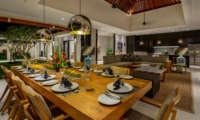 Living and Dining Area - The Maya Villa - Canggu, Bali