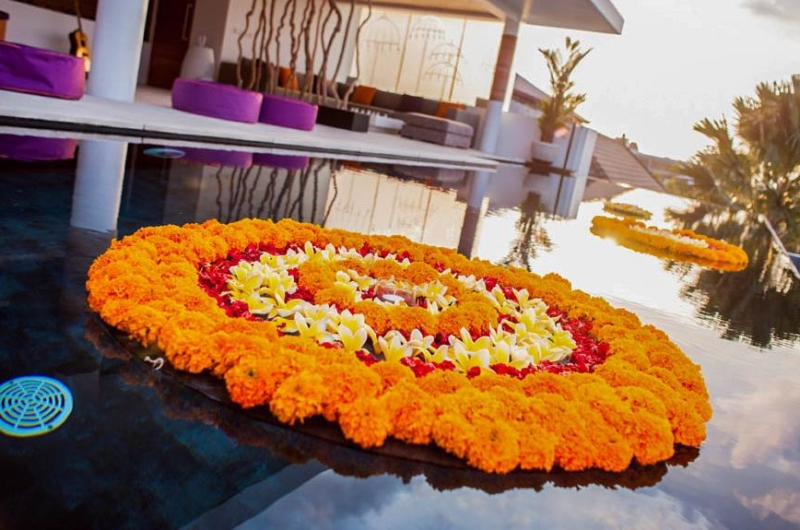 Pool with Decoration - The Muse Villa - Seminyak, Bali