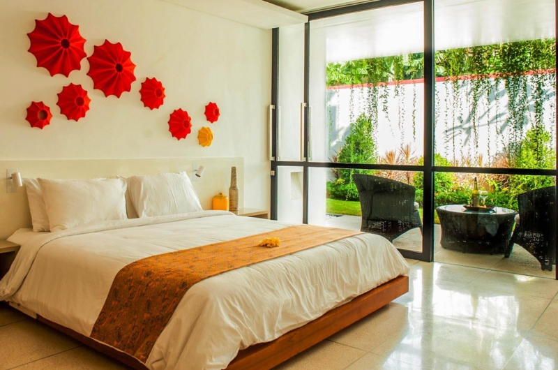 Bedroom with View - The Muse Villa - Seminyak, Bali