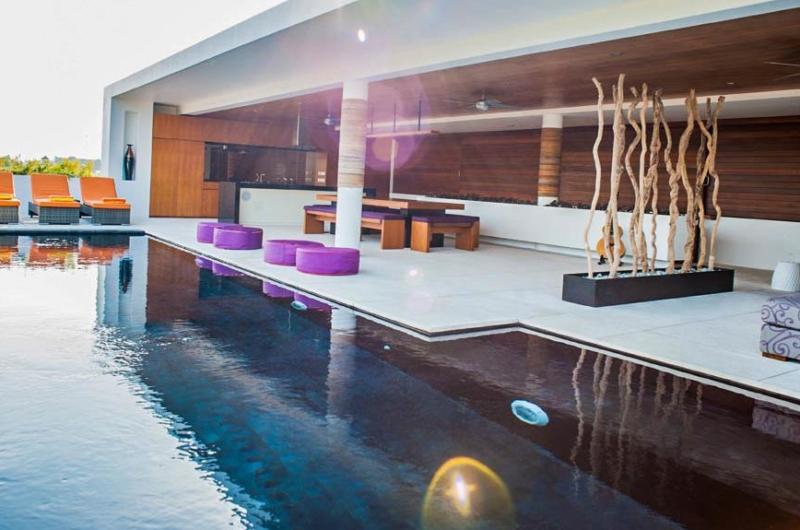 Pool Side - The Muse Villa - Seminyak, Bali