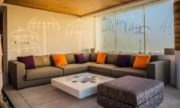Lounge Area - The Muse Villa - Seminyak, Bali