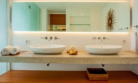 His and Hers Bathroom - The Muse Villa - Seminyak, Bali