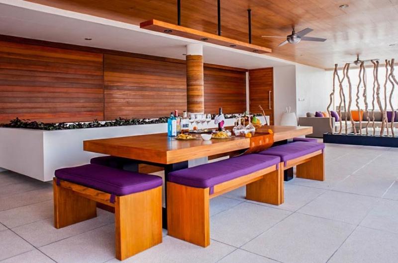 Indoor Dining Area - The Muse Villa - Seminyak, Bali