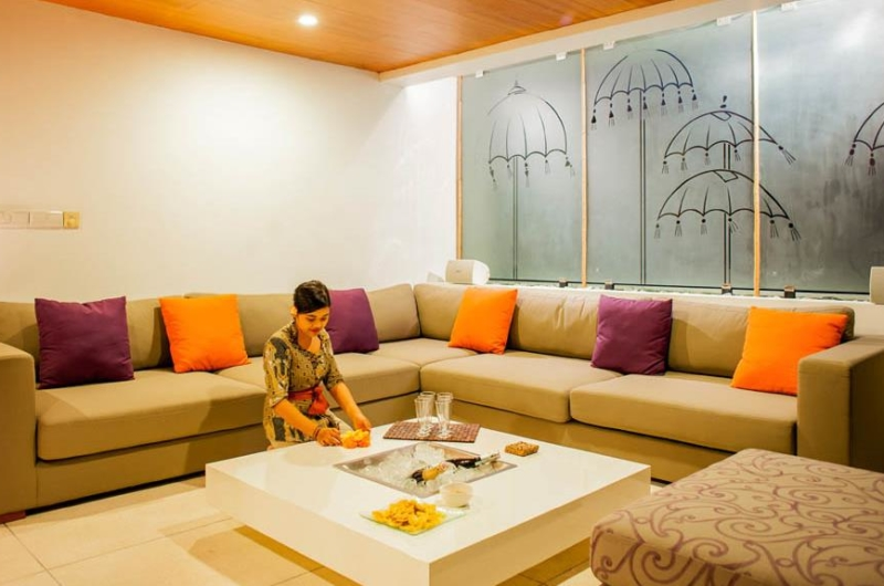 Indoor Living Area - The Muse Villa - Seminyak, Bali