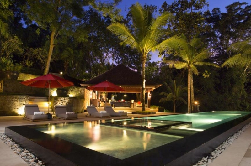 Pool at Night - The Sanctuary Bali - Canggu, Bali