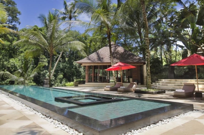 Pool Side Loungers - The Sanctuary Bali - Canggu, Bali