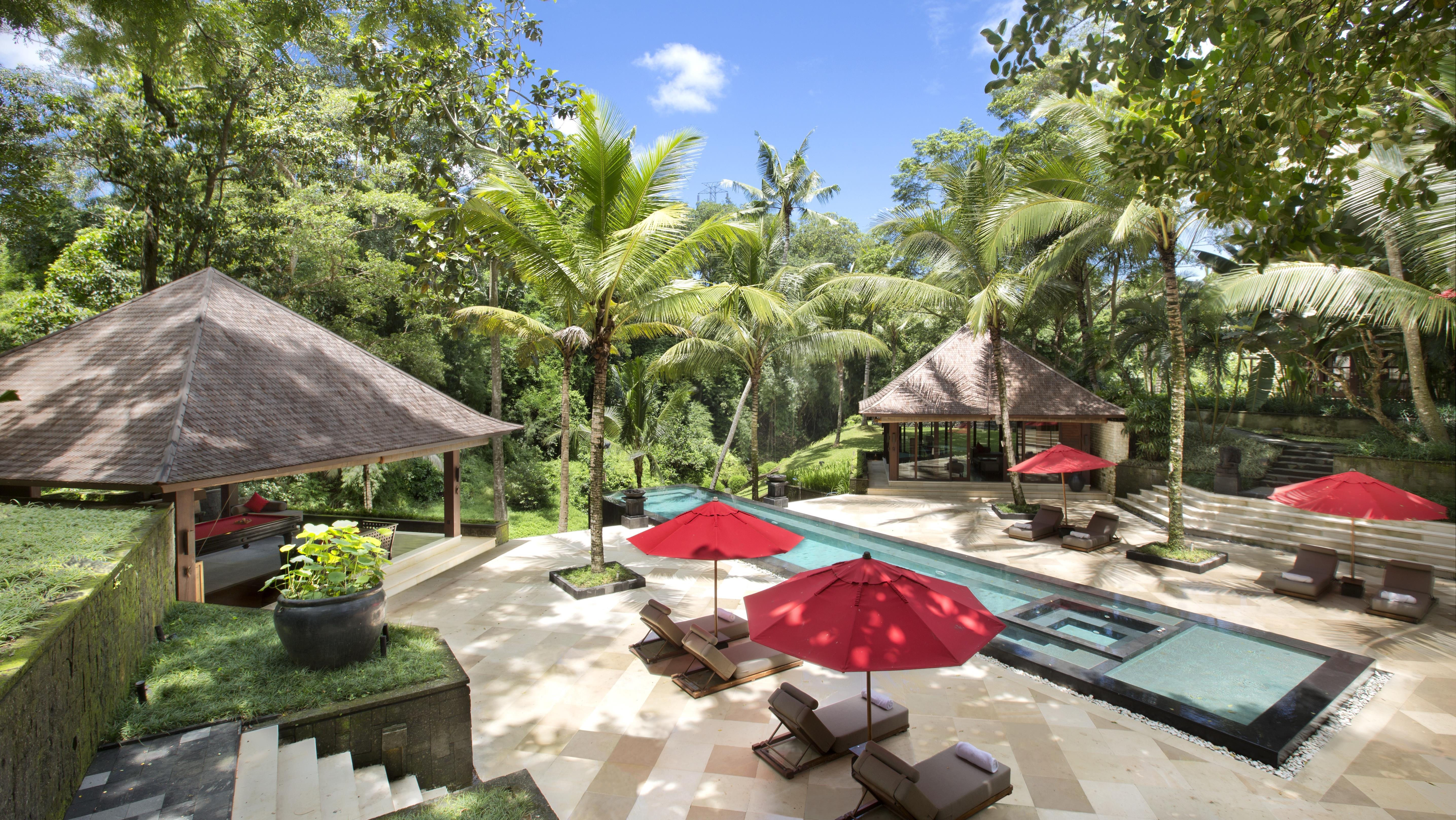 Reclining Sun Loungers - The Sanctuary Bali - Canggu, Bali