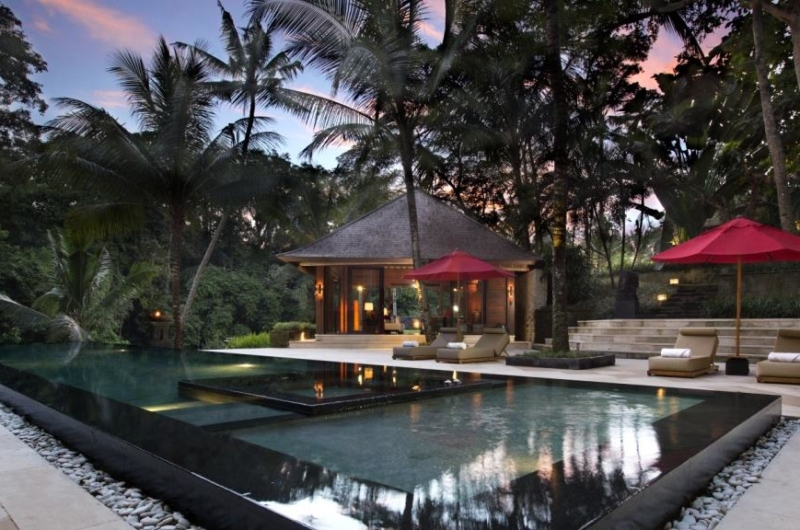 Swimming Pool at Night - The Sanctuary Bali - Canggu, Bali