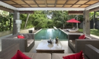 Pool Side Seating Area - The Sanctuary Bali - Canggu, Bali