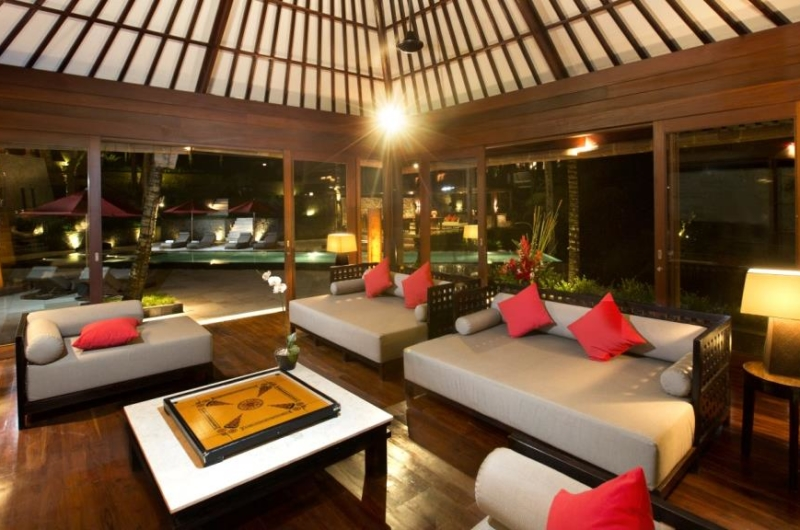 Lounge Area with Pool View - The Sanctuary Bali - Canggu, Bali