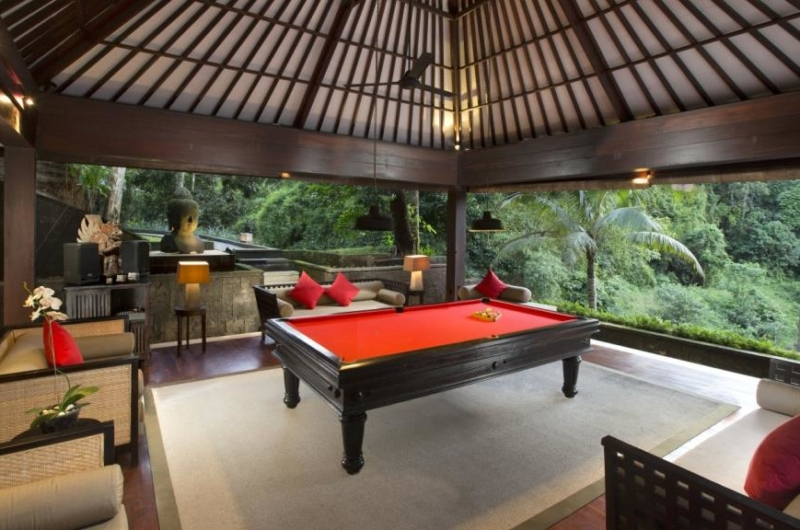 Billiard Table with View - The Sanctuary Bali - Canggu, Bali