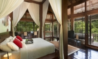 Bedroom and Balcony with View - The Sanctuary Bali - Canggu, Bali