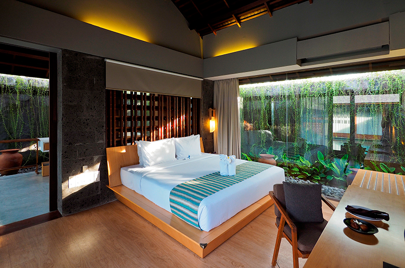 Bedroom with View – The Santai – Umalas, Bali