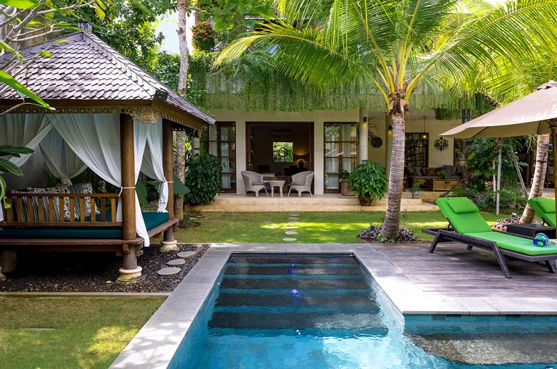 Pool Side - The Baganding Villa Bali - Seminyak, Bali