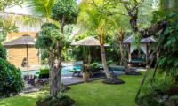 Gardens and Pool - The Baganding Villa Bali - Seminyak, Bali