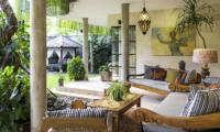 Outdoor Seating Area - The Baganding Villa Bali - Seminyak, Bali