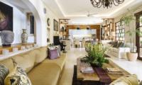 Living Area - The Baganding Villa Bali - Seminyak, Bali
