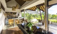 Outdoor Dining - The Baganding Villa Bali - Seminyak, Bali