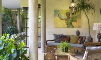 Outdoor Lounge - The Baganding Villa Bali - Seminyak, Bali