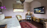 Lounge Area with TV - The Baganding Villa Bali - Seminyak, Bali