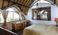 Bedroom with Mirror - The Baganding Villa Bali - Seminyak, Bali