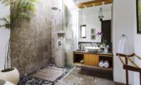Bathroom with Shower - The Baganding Villa Bali - Seminyak, Bali