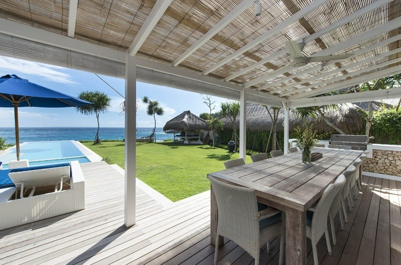 Dining Area with Pool View - The Beach Shack - Nusa Lembongan, Bali