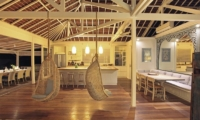 Living and Dining Area - The Beach Shack - Nusa Lembongan, Bali
