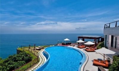 Gardens and Pool - The Edge - Uluwatu, Bali