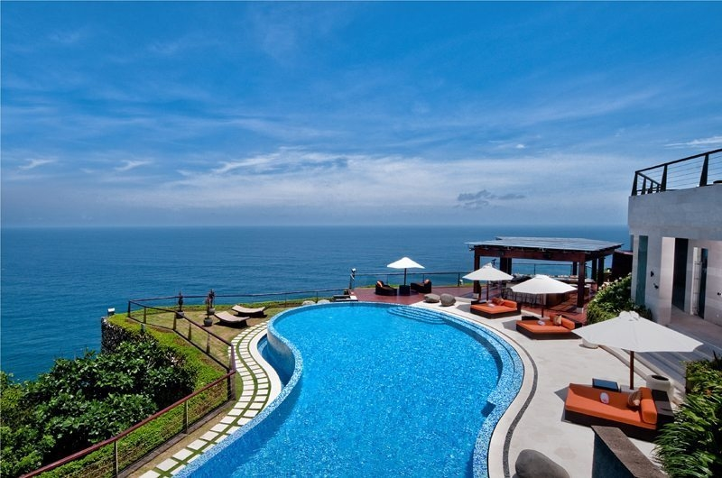 Gardens and Pool - The Edge - Uluwatu, Bali
