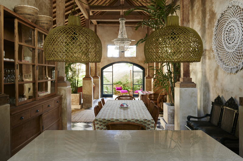 Living, Kitchen and Dining Area - The Island Houses - Desu House - Seminyak, Bali