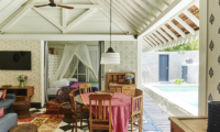 Living and Dining Area - The Island Houses - Pandan House - Seminyak, Bali