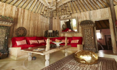 Living Area - The Island Houses - Round House - Seminyak, Bali