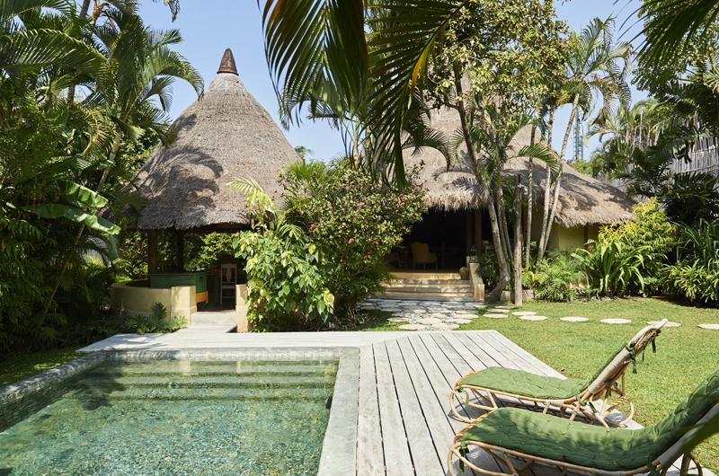 Pool Side - The Island Houses - Round House - Seminyak, Bali