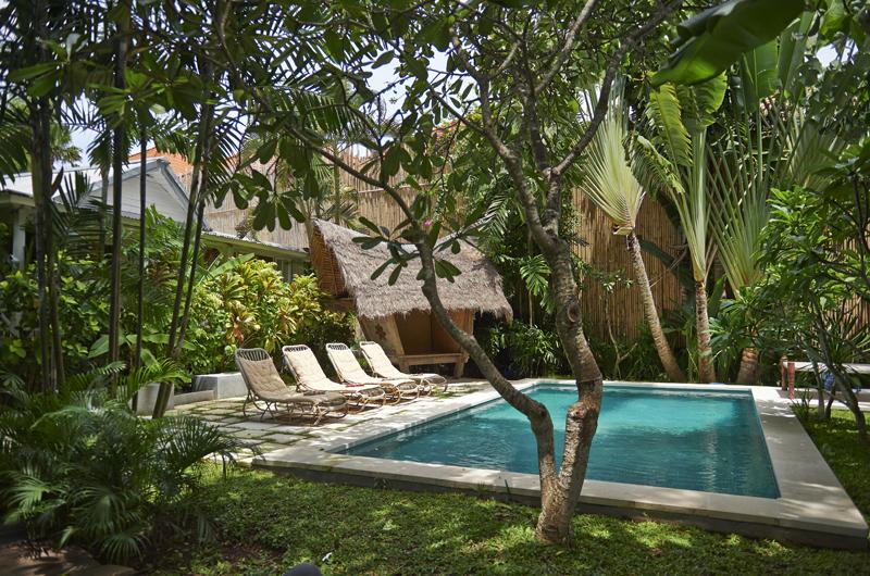 Gardens and Pool - The Island Houses - White House - Seminyak, Bali