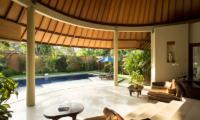Living Area with Pool View - The Kunja - Seminyak, Bali