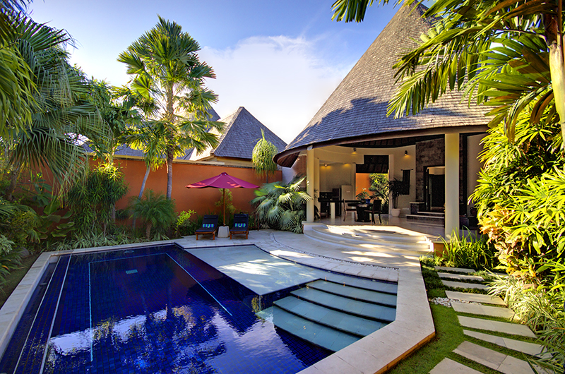Gardens and Pool - The Kunja - Seminyak, Bali