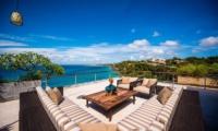 Lounge with Sea View - The Luxe Bali - Uluwatu, Bali