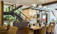 Indoor Dining Area - The Luxe Bali - Uluwatu, Bali
