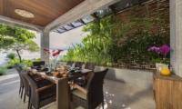 Dining Area with Sea View - The Luxe Bali - Uluwatu, Bali