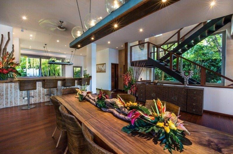 Kitchen and Dining Area - The Luxe Bali - Uluwatu, Bali