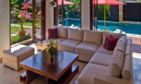 Living Area with Pool View - The Residence - Seminyak, Bali