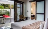Bedroom and Balcony - The Residence - Seminyak, Bali