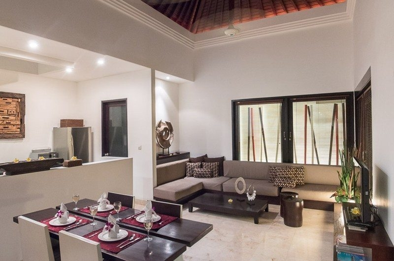 Indoor Living and Dining Area - The Residence - Seminyak, Bali