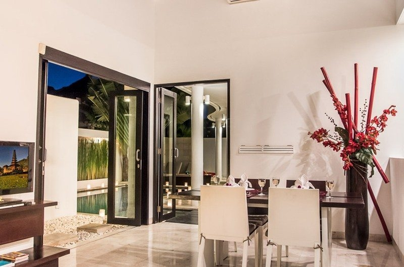 Dining Area with Pool View - The Residence - Seminyak, Bali