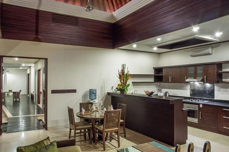 Kitchen and Dining Area - The Residence - Seminyak, Bali