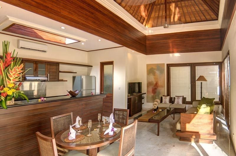 Living, Kitchen and Dining Area - The Residence - Seminyak, Bali