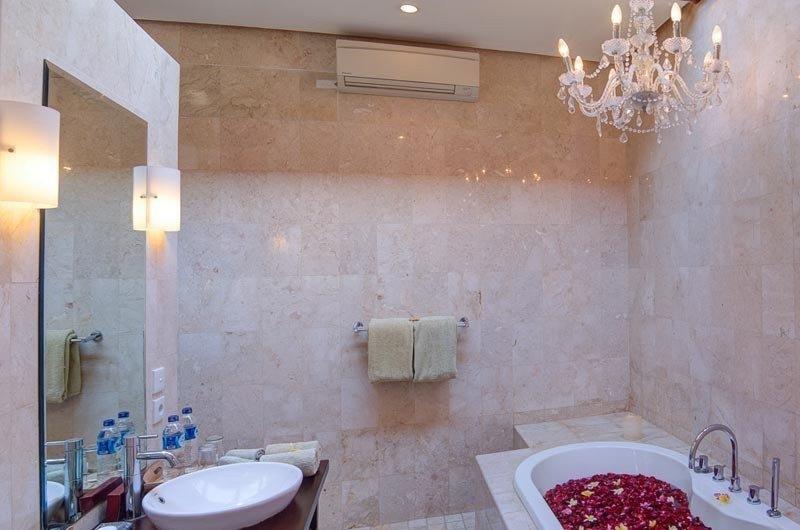 Romantic Bathtub Set Up - The Residence - Seminyak, Bali